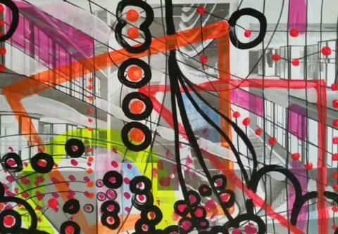Bild aus dem kreativen Atelierkurs