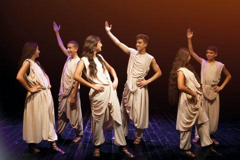 Tanz-Theater des palästinensischen Ensembles