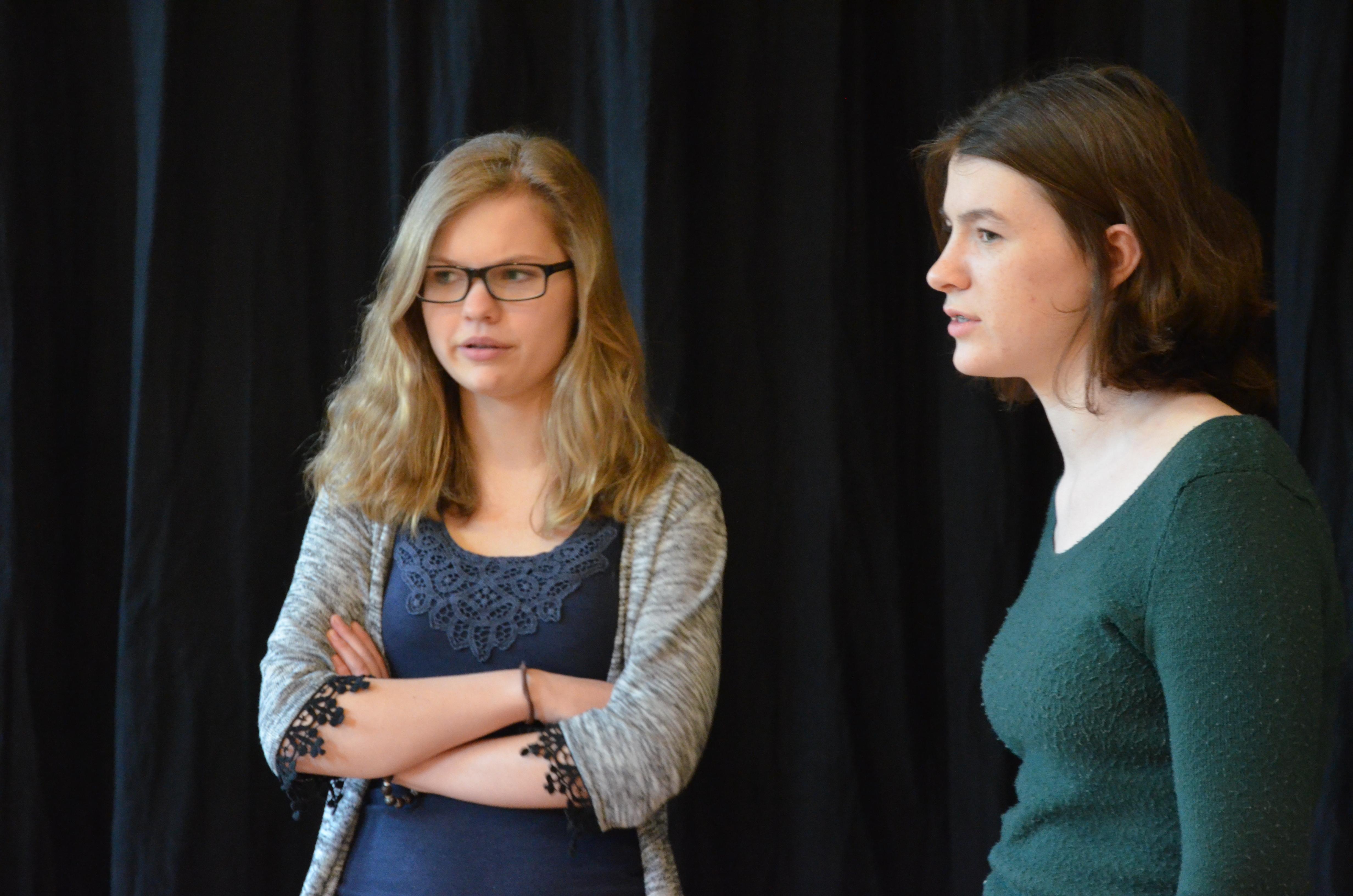 Theater Unterricht in der Krea
