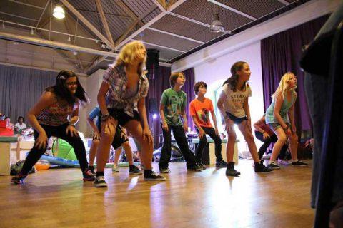 Ferien Workshop Tanz in der Krea