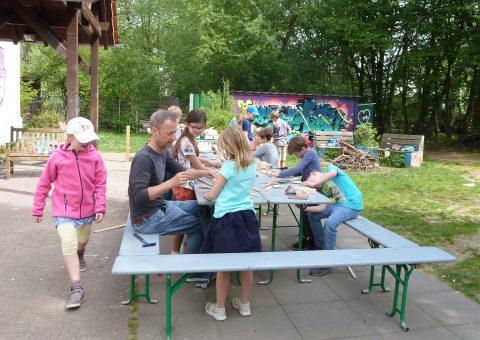 Krea Kurs Holzwerkstatt