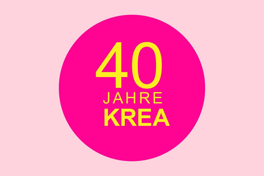 40 Jahre Kreativitätsschule Jubiläumsmotiv