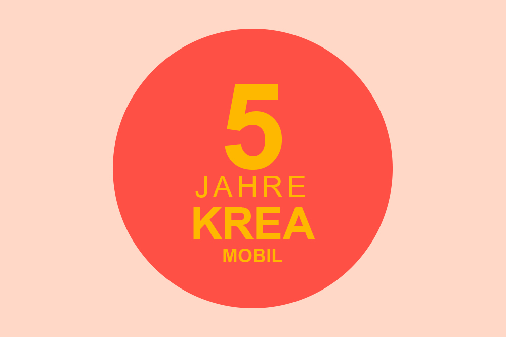 5 Jahr Krea-Mobil Jubiläum