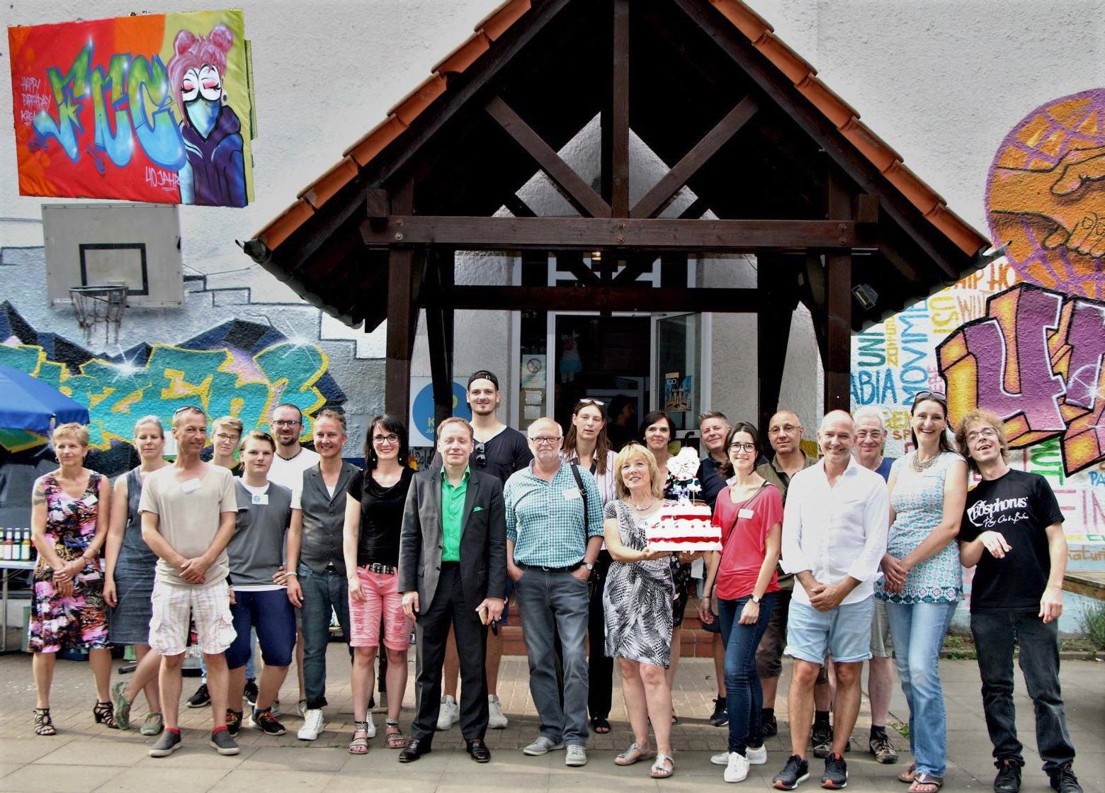 Gruppen-Bild der KREA-Mitarbeiter