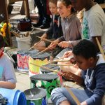 Kultur-Ferien 2017: Around the world - Workshop. Im Rahmen des Kulturrucksack NRW