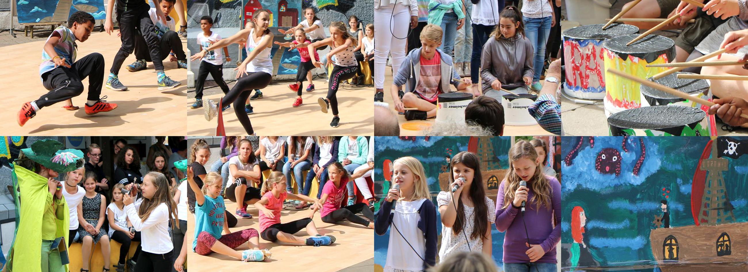 Krea Kultur-Ferien Kulturrucksack 2017