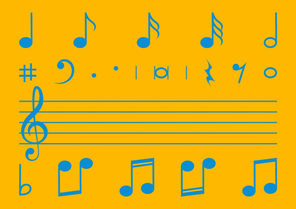 Vocals Key Visual Noten