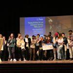 Preisverleihung beim Bundeswettbewerb Rauskommen