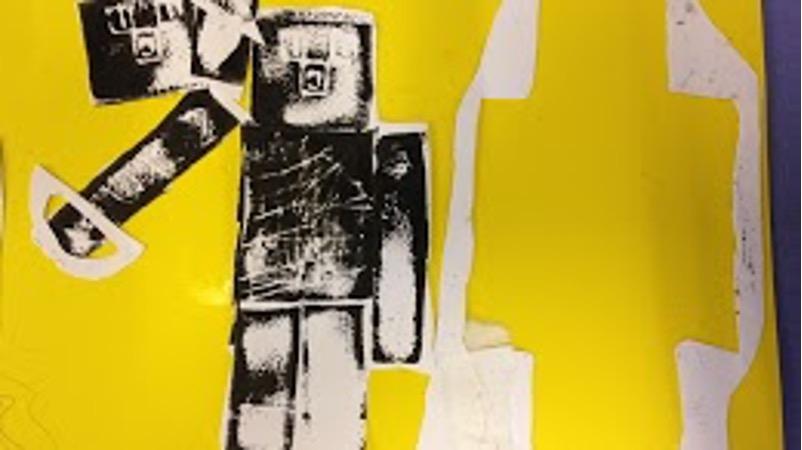 Künstlerische Gestaltung eines Roboters